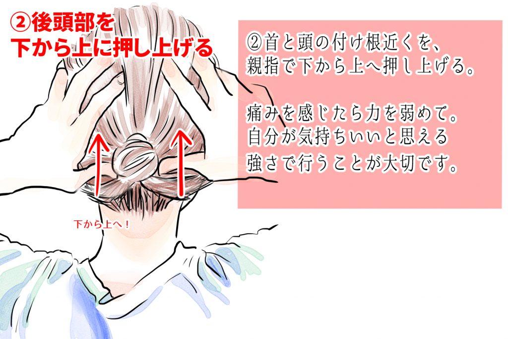 が と 頭 向く 下 痛い を